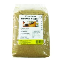 Premium Brown Sugar (900g) 天然幼黄糖