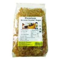 Premium Brown Crystal Sugar (900g) 红冰糖