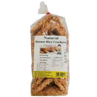 Natural Brown Rice Crackers [33](170g) 天然糙米饼
