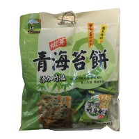 Bamboo Salt Seaweed Biscuit (300g) 青海苔饼