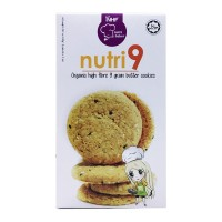 Nutri9 Organic High Fibre 9 Grain Butter Cookies (240g) 30x8 packets