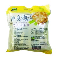 Bamboo Salt Flax Seed Cracker 竹塩亚麻籽饼 (素)300g