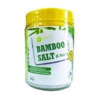 Bamboo Salt 6 Burnt (lohas)- 六烤竹盐 400g