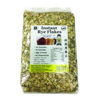 Instant Rye Flakes  (500g) 快熟黒麦片